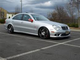 lowered mercedes mercedes e class w211 air suspension lowering links module ebay