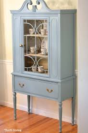 before u0026 after my thrifted china cabinet makeover china