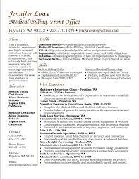 billing resume exles optometry resume template best of billing resume sle for