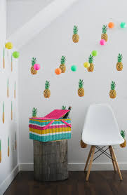 oh joy oh joy for pineapple wall decals oh joy for target decor pinterest