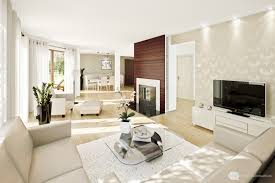 apartment splendid interior ideas in cream theme family room