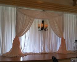 pipe and drape wedding party event decorating company magnolia building wedding
