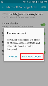 remove account android how to remove an email account from samsung devices android 5 1