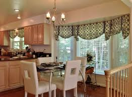 Dining Room Curtains Images White Fluffy Cover Chairs Exposed - Dining room curtains