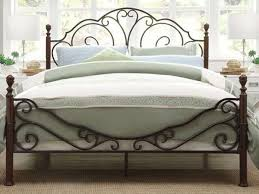 harmony victoria metal bed frame antique style beds inside framed