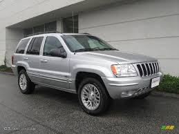 jeep cherokee silver 2002 bright silver metallic jeep grand cherokee limited 4x4