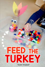 will your toddler feed the turkey thanksgiving activities and