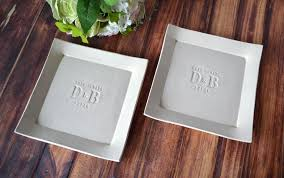 personalized platters wedding set of personalized platters always with initials and date