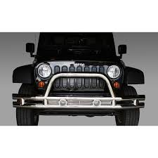 Rugged Ridge Jk Bumper All Things Jeep Double Tube Front Bumper For Jeep Wrangler Jk