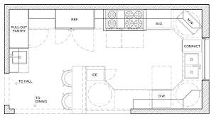 Kitchen Floor Plan Designer Kitchen Floor Plan Design Kitchen Island Floor Plan Designs