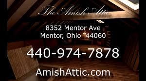 amish attic mentor ohio amish furniture store