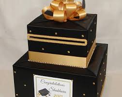 graduation card box graduation card box etsy