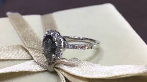 sabion verighete inel de logodna dina aur alb 18k cu alexandrit si diamante
