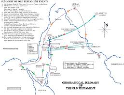 map ot testament geographical historical summary maps for