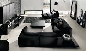 Painted Wood Coffee Table Living Room Cozy Black Microfiber Couch Living Room Furniture