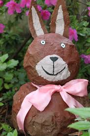 paper mache easter bunny easter pleasures my material