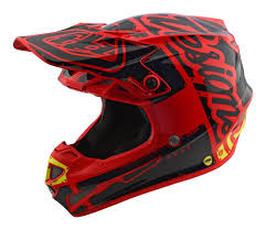 motocross helmets 2018 troy lee designs se4 mips team factory red kids motocross