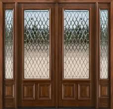 8 Foot Exterior Doors 8ft Mahogany Glass Doors Solid Mahogany Exterior Entry Doors