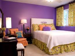 Purple Bedroom Colour Schemes Modern Design Bedroom Bedroom Decorating With Yellow Floral Pattern