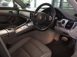 porsche panamera interior porsche panamera rental malaysia taste the power