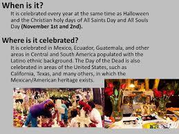 día de los muertos day of the dead ppt