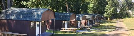 one night summer cabin stay at harpers ferry adventure center