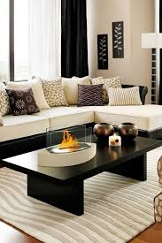 Black Living Room Tables 49 Black And White Living Room Ideas Colour Contrast Center