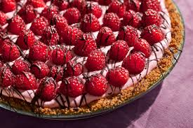 raspberry recipes chocolate raspberry cream pie recipe chowhound