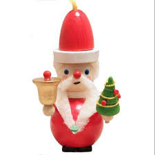 buy steinbach kris kringle santa claus with bell and tree german