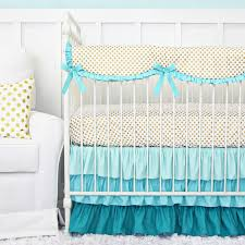 Teal And Purple Crib Bedding Aqua Baby Bedding Blue Crib Bedding Rosenberry Rooms
