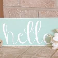 Beach Shabby Chic by Hello Wood Sign Beach Shabby Chic From Heartnsouldesigns32