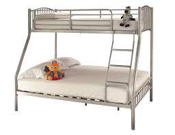 Three Sleeper Bunk Bed Three Sleeper Silver Metal Bunk Bed