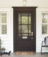 Exterior Door Black Front Door Illionis Home