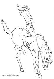 horse rodeo coloring pages hellokids