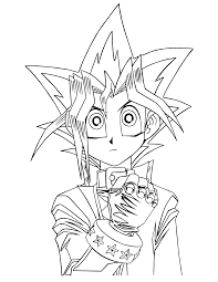 yugioh coloring page kids n fun 26 coloring pages of yu gi oh