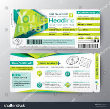 abstract polygon design boarding pass event stock vector 257457574