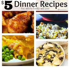 Cheap Easy Dinner Ideas For 2 5 Dinner Recipes For Your Whole Family