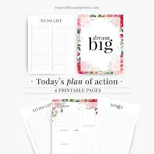 best daily planner 2017 2018 daily planner template kit printable page