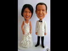 cheap custom wedding cake toppers custom bobbleheads make your