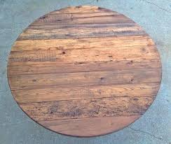 reclaimed oak table top wooden round table tops incredible round reclaimed wood dining table