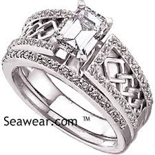 celtic wedding ring sets celtic wedding ring set