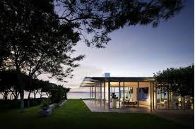 modern box house fully transparent design idea home improvement