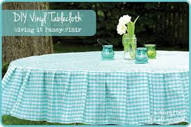 tablecloth ideas for round table a thrifter in disguise operation vinyl tablecloth
