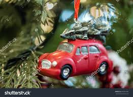 renault christmas little red car toy on christmas stock photo 530261596 shutterstock
