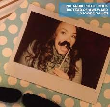 photo mustache baby shower water image