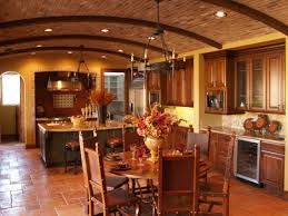 Tuscan Style Dining Room Furniture Tuscan Style To Bring Romantic Rustic Interior Home Design
