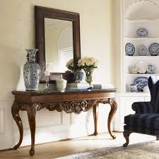 Gold Entry Table Table Delectable Gold Rococo Console Table And Mirror Set