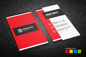 red business card archives graphic pick