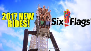 How Many Rides Does Six Flags Have New For Six Flags Theme Parks In 2017 New Rides U0026 Roller Coasters