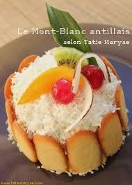 recette de cuisine antillaise facile le mont blanc antillais idéal pour les anniversaires mont blanc